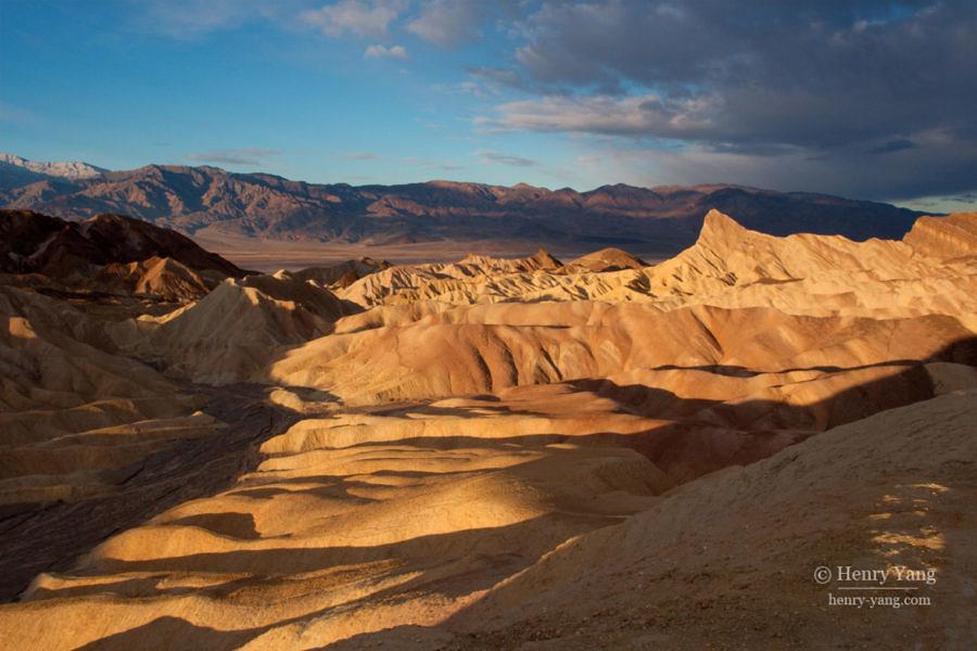 Zabriskie Point Sunrise, Death Valley National Park, California, 12/2008
