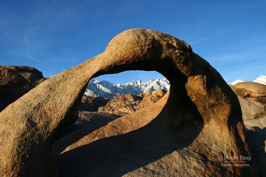 Mobius Arch, Eastern Sierra, California, 12/2008