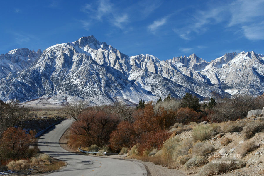 Mount Whitney, Eastern Sierra, California, 12/2008
