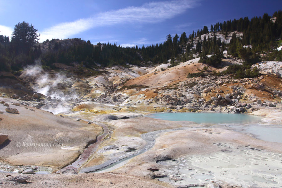 Bumpass Hell, Lassen Volcanic National Park, California, 9/2010