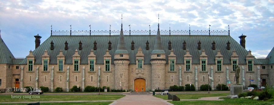 Quebec City Armoury, Quebec, Canada, 7/2005