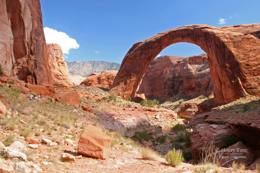 Rainbow Bridge National Monument, Utah, 9/2008