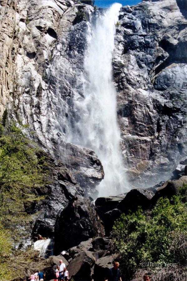Bridalveil Fall,, Yosemite National Park, California, 6/2004