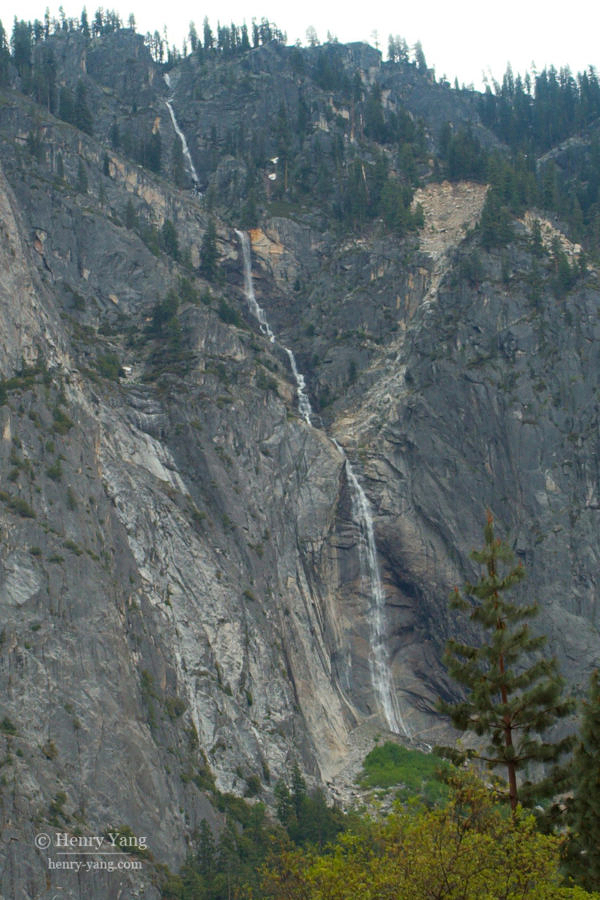 Sentinel Falls, Yosemite National Park, California, 5/2008