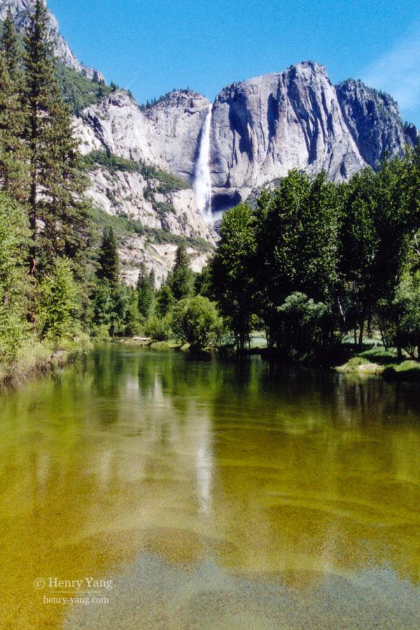 Yosemite Falls, Yosemite National Park, California, 6/2004