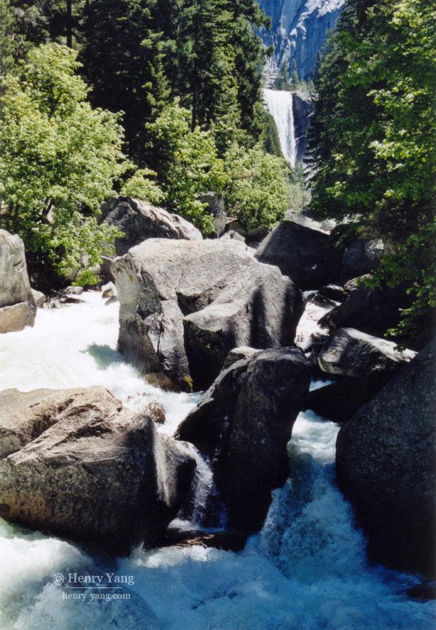 Vernal Fall, Yosemite National Park, California, 6/2004