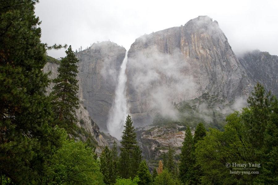 Yosemite Falls, Yosemite National Park, California, 5/2008