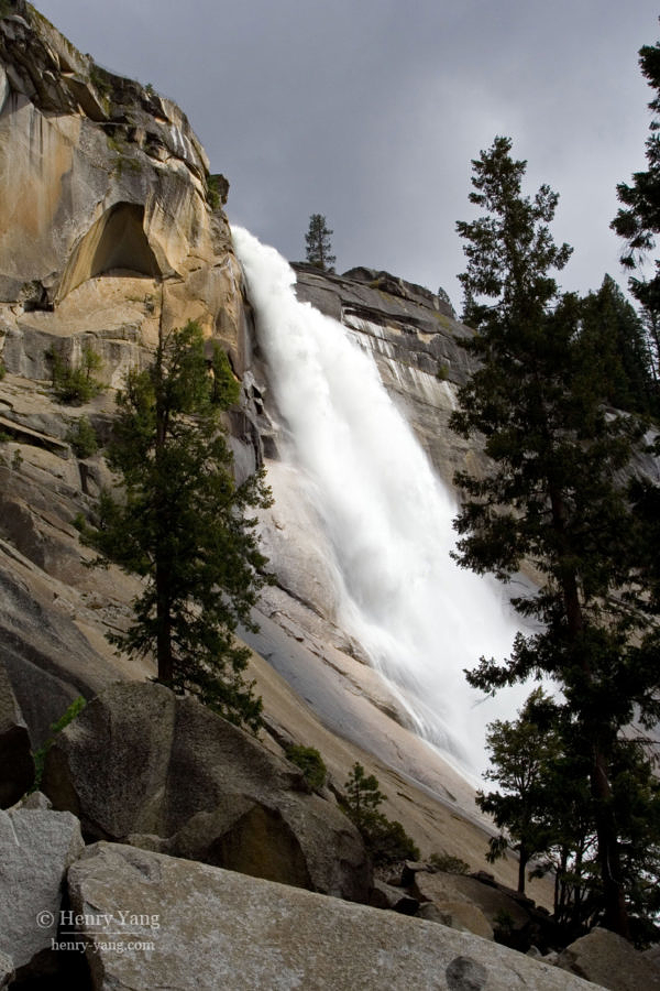 Nevada Fall, Yosemite National Park, California, 5/2008