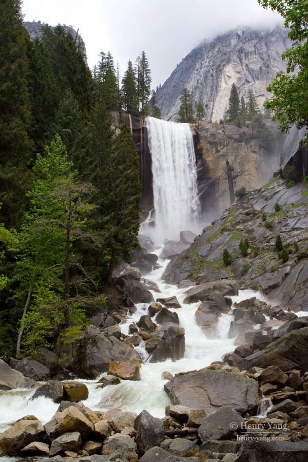 Vernal Fall, Yosemite National Park, California, 5/2008