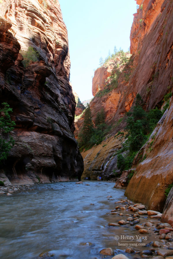 The Narrows, Zion National Park, Utah, 9/2008