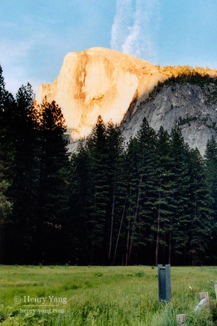Half Dome Sunset, Yosemite National Park, California, 6/2004