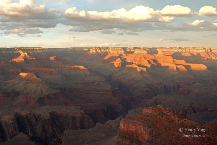 Hopi Point Sunset, Grand Canyon National Park, Arizona, 9/2007