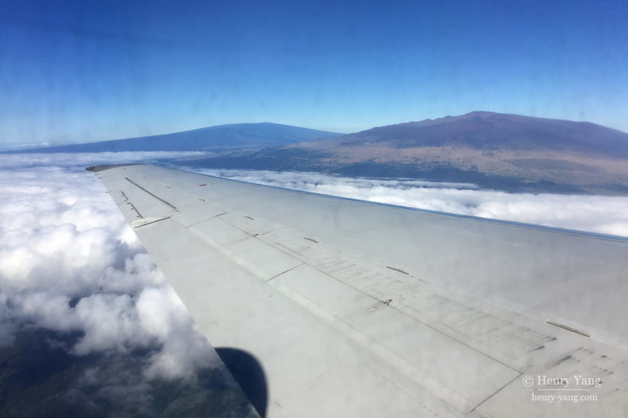 Mauna Loa and Mauna Kea, Hawai'i Volcanoes National Park, Big Island, Hawaii, 8/2016