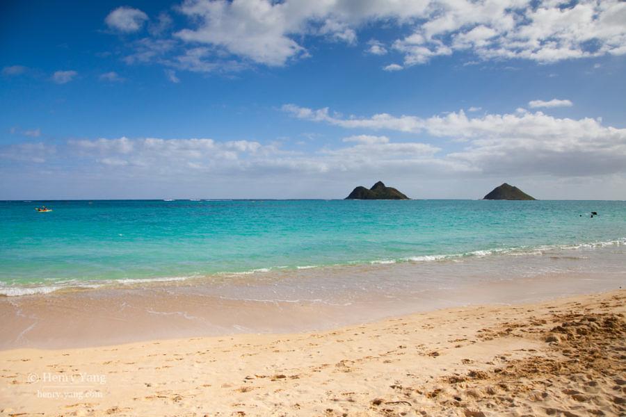 Lanikai Beach, Oahu, Hawaii, 12/2014